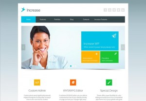 Thème Increase (ThemeForest)